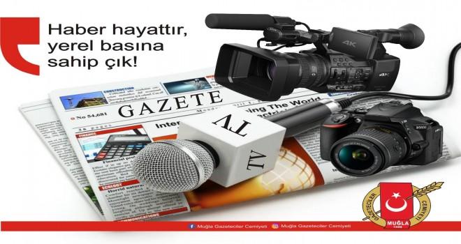 """""""HABER HAYATTIR, YEREL BASINIMIZA SAHİP ÇIKALIM"""""""