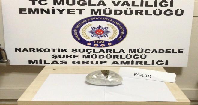 NARKOTİK KÖPEĞİ OSCAR'DAN KAÇIŞ YOK!