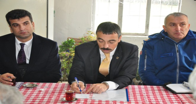 KAYMAKAM ARSLAN'IN BU HAFTAKİ MAHALLE ZİYARETİ KALINAĞIL MAHALLESİ