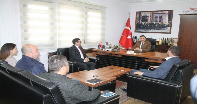 Saylak'tan Tokat'a ve eski başkanlara ziyaret