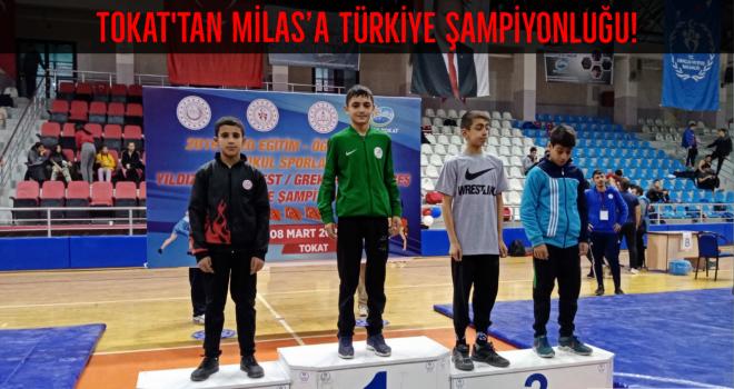 Tokat'tan Milas'a Türkiye Şampiyonluğu!