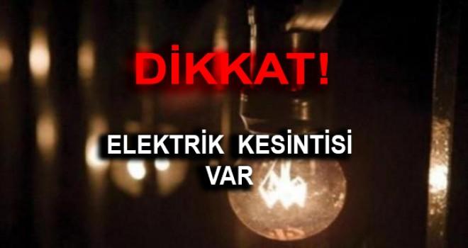 MİLAS'TA ELEKTRİK KESİNTİSİ UYGULANACAK!