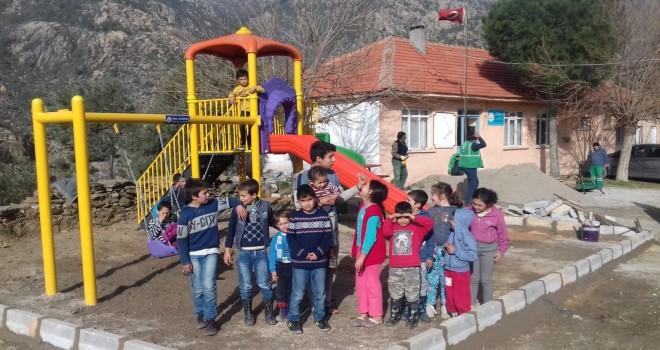 Milas Belediyesi'nden 2 yeni park