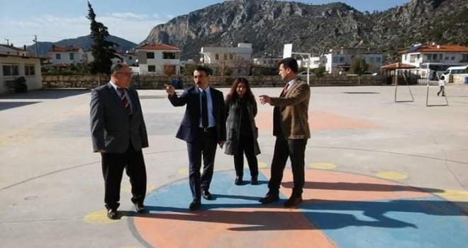 Kaymakam Arslan'dan okullara ziyaret