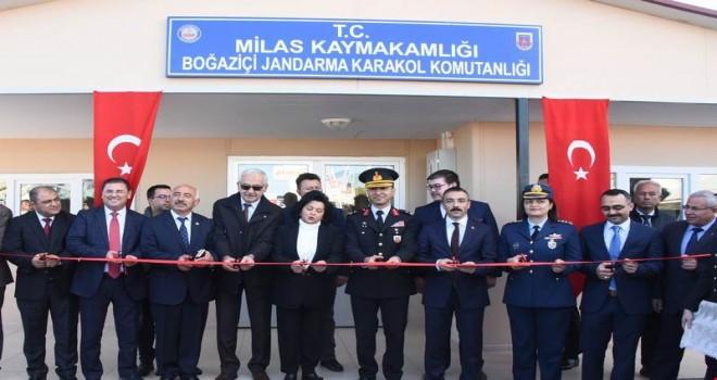Boğaziçi Jandarma Karakolu açıldı