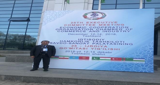 MİTSO Başkanı Özer, Özbekistan'da