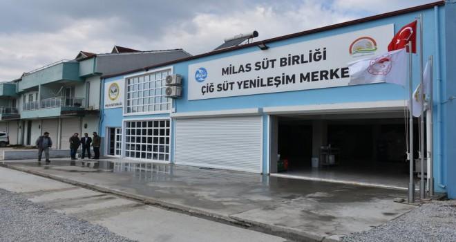 Yenileşim Merkezi, süt üreticilerinin hizmetinde...