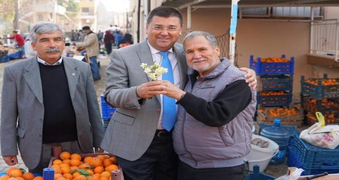 Tokat'tan pazar yeri ziyaretleri