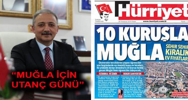 "AK PARTİLİ METE: ""MUĞLA İÇİN UTANÇ GÜNÜ"""