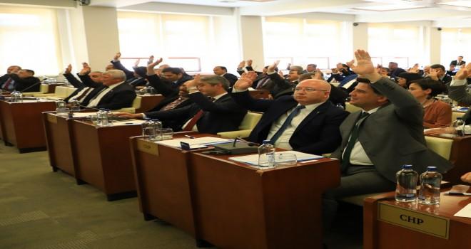 Büyükşehir Meclisi ilk toplantısını gerçekleştirdi