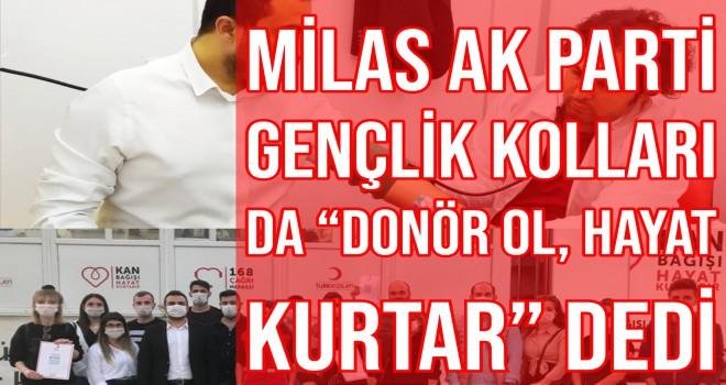 Milas AK Parti Gençlik Kolları da