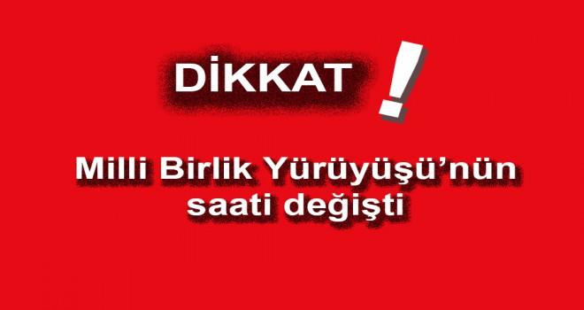 15 TEMMUZ PROGRAMI SAATİ DEĞİŞTİ!..