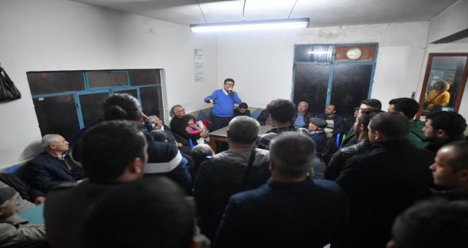 Barış Saylak mahalle ziyaretlerini sürdürüyor