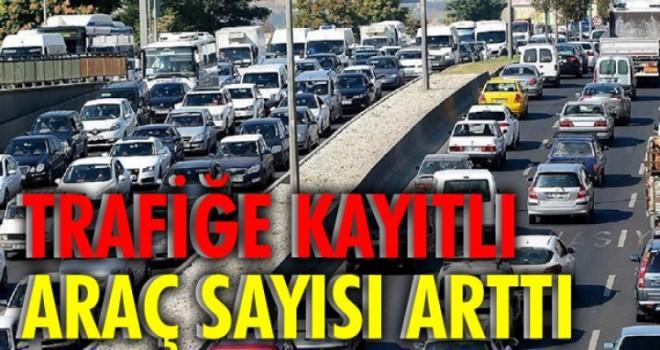 MUĞLA'DAKİ MOTORLU ARAÇ SAYISI DURMADAN ARTIYOR