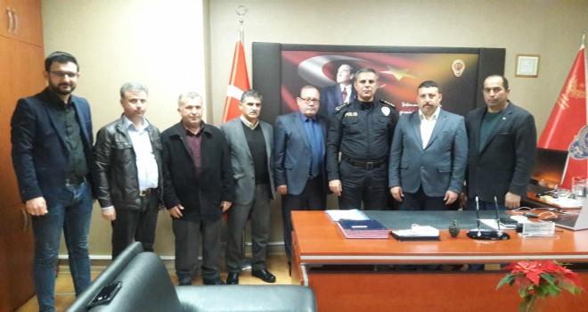 MHP'den kurum yöneticilerine ziyaret