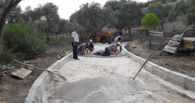 Milas Belediyesi'nde çalışmalar hız kazandı