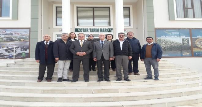İYİ Parti'den Ziraat Odası'na ziyaret