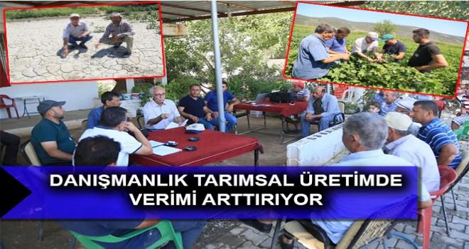 DANIŞMANLIK TARIMSAL ÜRETİMDE VERİMİ ARTTIRIYOR
