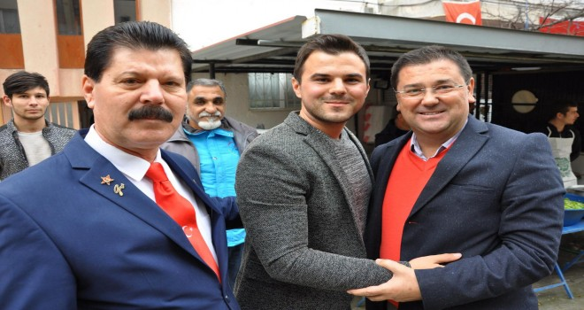 Başkan Tokat, asker eğlencesine katıldı