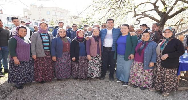 Saylak'a Türbe köylerinde yoğun ilgi