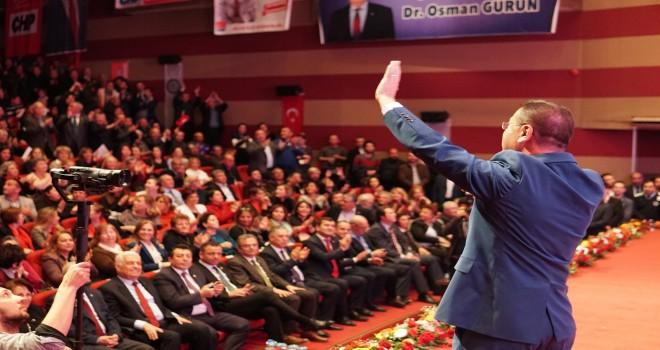 CHP aday tanıtım toplantısı düzenledi