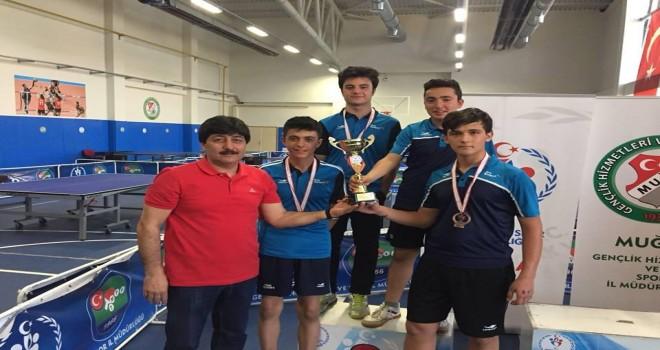 Masa Tenisi Şampiyonları Milas'ta